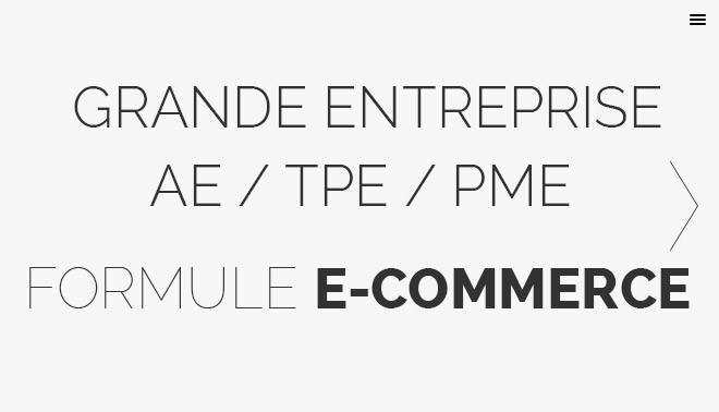 Formule e-commerce site web